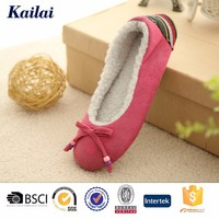 2016 besutiful pink character warm dance shoe for winter in china
