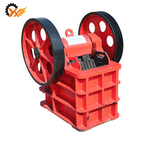 Small jaw crusher model PE 250*400 jaw crusher driven by diesel engine and motor
