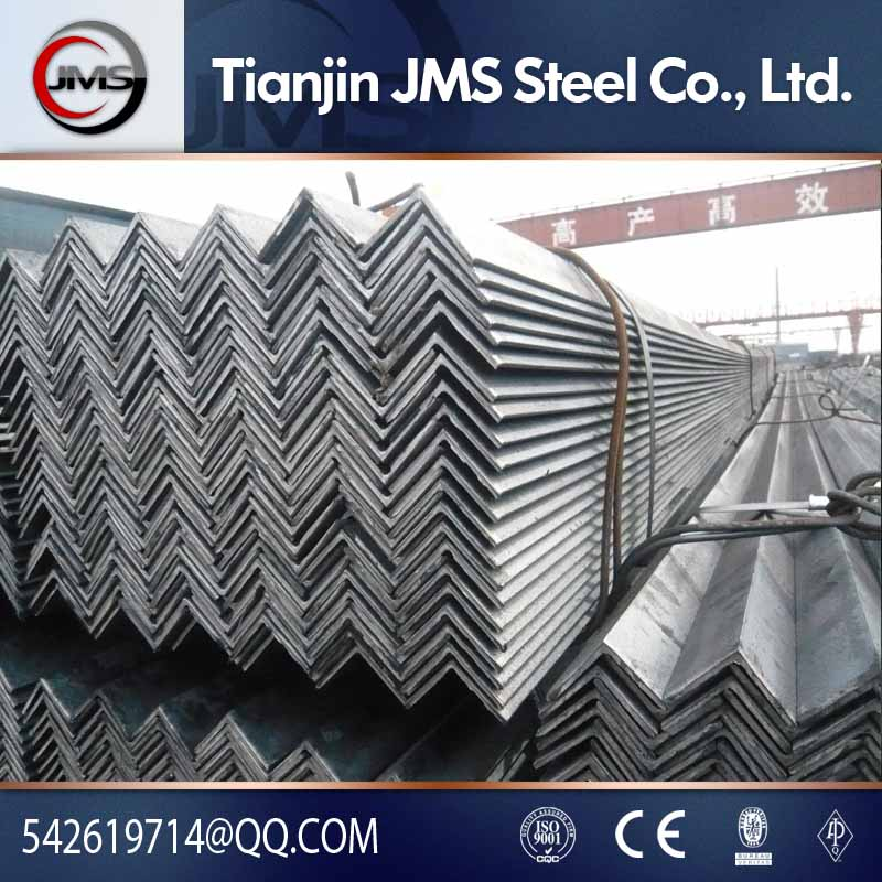 Equal equal angle steel Type and AISI ASTM BS DIN GB JIS Standard steel 45 degree angle iron