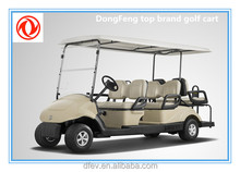 Cheap 6 passengers electric golf car for golf course with attractive prices