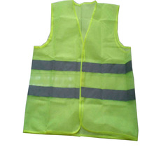 EN 471 polyester mesh yellow reflective stripe <strong>safety</strong> vest