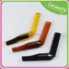 travel foldable combs ,SY091 bakelite hair comb