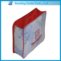 new design full Imprint waterproof travel makeup PVC blanket bag