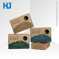 Custom printing kraft paper card soap display boxes