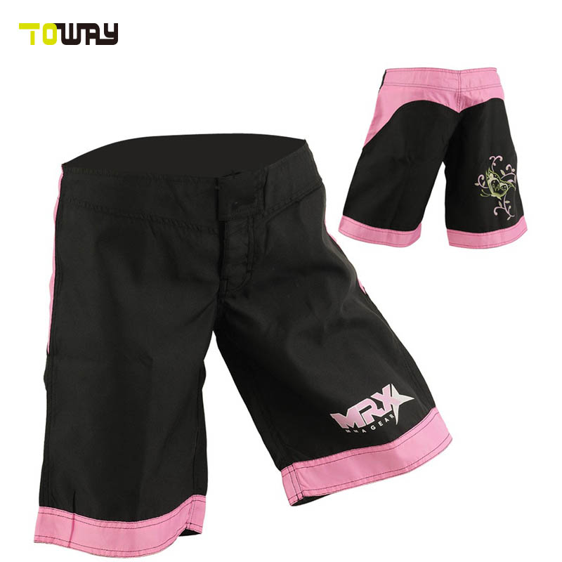 womens blank mma fight shorts wholesale