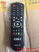 ZF Black 35 Keys OKI InOutTV remote control EUROMAX REMOTE for The Republic of Azerbaijan RC-8E remote with Original Hard IC