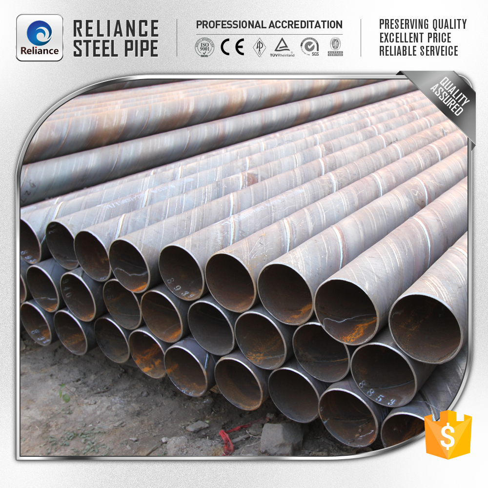 Low price spiral tube for underground water transport
