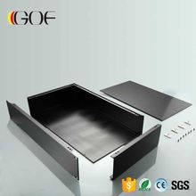 GOFH-002--2u 482*89*200mm (WxH-D) Compact Aluminum Rackmount microATX Chassis