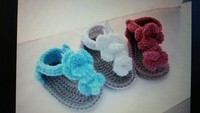 knitting baby shoes boys and girls sandals
