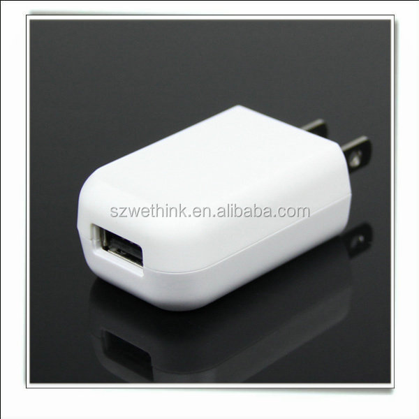 2015 New Product 1 USB Port USB Wall <strong>Adapter</strong> , 1A universal ac <strong>adapter</strong> , dc <strong>adapter</strong> for smart phones