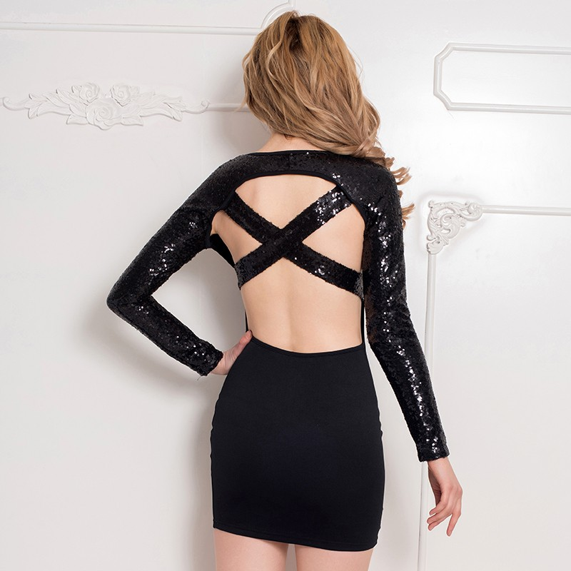 New desgin backless dress