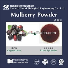 pure natural 10:1 organic white mulberry leaf extract powder