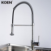 Pull Out Kitchen Sink Faucet Brass