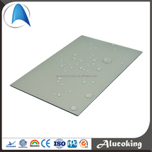 Interior/exterior wall cladding plastic ACP/ ACM NANO aluminum cladding sheets