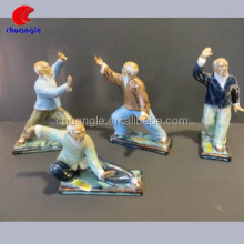 Karate Figures, Chinese Figurines , Chinese Old Man Statue