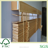 Basswood Blinds for Window Decoration