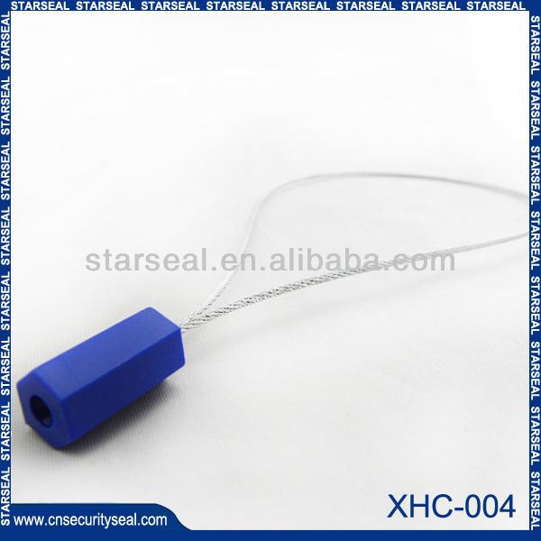 XHC-004 Mechanical security cable seals plastic box with padlock seal