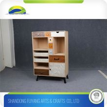 Bedroom Solid Wooden Cabinet For Home Storage In Display