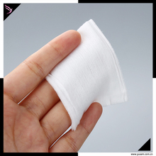 Private lable cosmetic 2 in 1 makeup remove skin care cotton pad