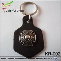 Fashionable promotional gift high quality keychain making supplies