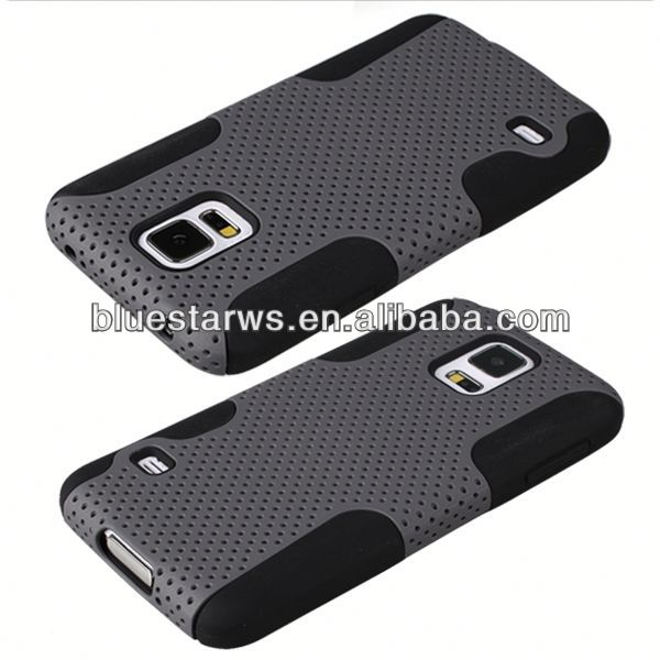 for sam galaxy s5 i9600 Brand new for galaxy s5 silicon gel mesh shell