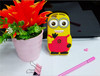 custom silicone despicable me phone case for zte cell phone and other smart phones