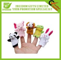 Lovely Animal Plush Finger Soft Toys