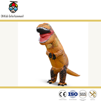 Wholesale cheap price inflatable dinosaur costume for adult