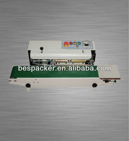 FR-770 Plastic bag Automatic continuous bag sealing machine with CE