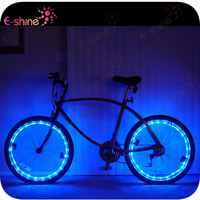Party Supply 2.2M Customize Bicycle Led String Wheel Light