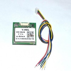 Trade Assurance Gold Supplier VK16U6 ublox GPS module with antenna ublox module TTL 232 USB signal output