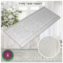 2015 Pop design hot stamping PVC ceiling panel for wall and tiles