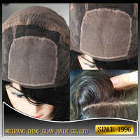 Silk Top Hidden Knots Silk Top Cap Full Lace Wig on the Stock