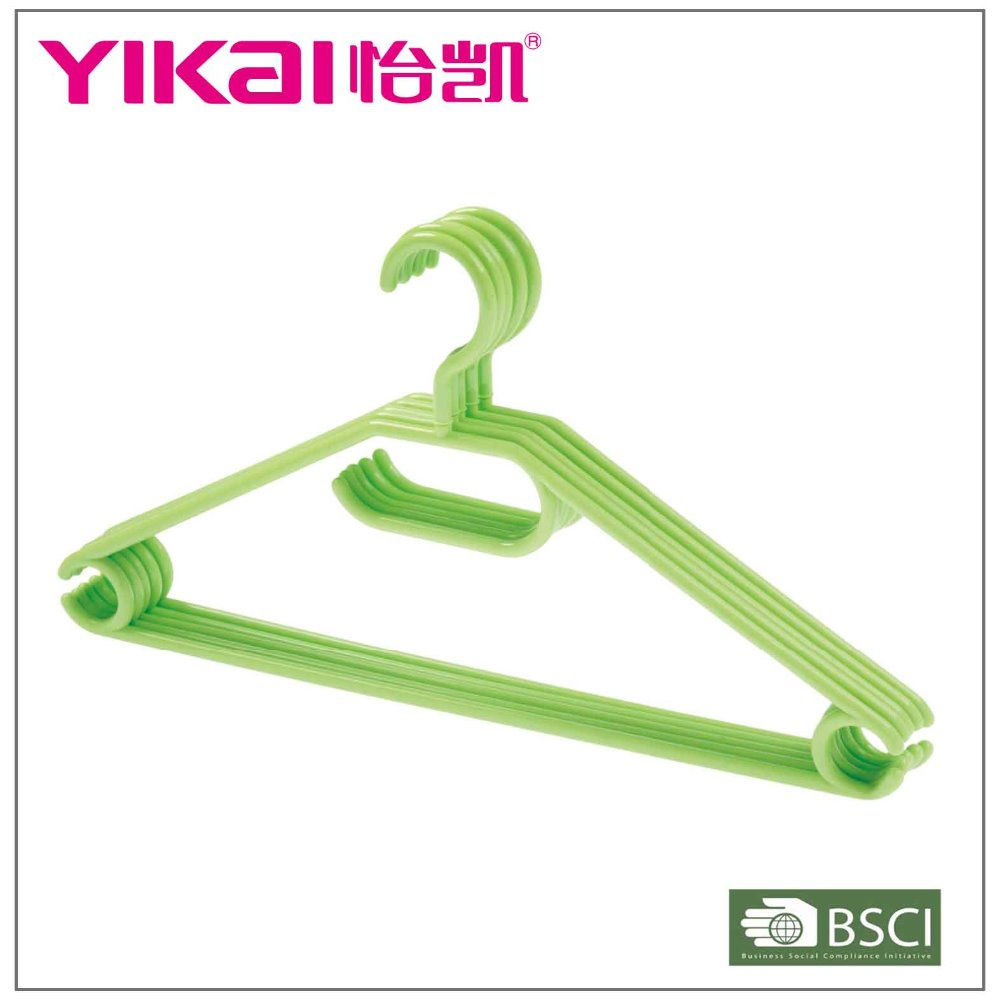 Beautiful cheap bulk fashion clear plastic clothes hanger wholesale for shirt pants with tie rack