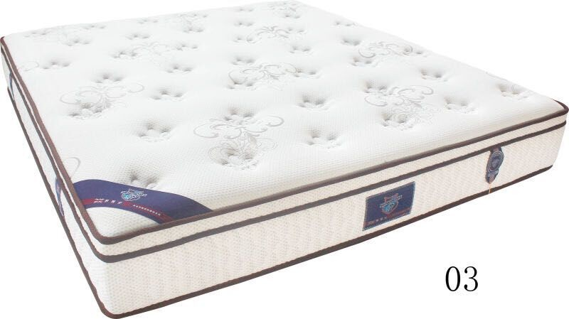 MBS 100% Natural Latex Foam Mattress Washable King Size Mattress Hotel Mattress Household Mattress Good Night Mattress