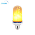 Indoor And Outdoor Decorative E26 E27 SMD2835 6w LED Flame Effect Lamp
