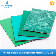 China manufacturer acm wall decoration materials exterior PVDF aluminium composite panel