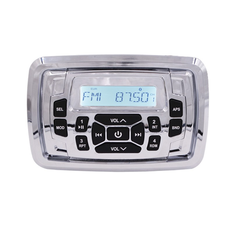 new design 40w Waterproof Marine outdoor Stereo MP3 player With Bluetooth and RCA out