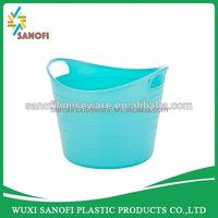 Plastic organizer storage container for pen or scissors