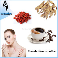 China Suppliers Herbal Ingredients Strong Effect Female Beauty Coffee