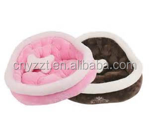 WHOLESALE HOME DOG CAT PLUSH BED ALL IN ONE DESIGN EASY TO CLEAN 100% MACHINE WASHABLE TUMBLE DRY