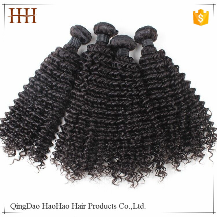 No Tangle Shedding Free 8A Grade Different Types Of Curly Weave Hair