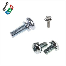 Taiwan Stainless Steel 18-8 Copper Brass Aluminum Brass SEMS Screw Washer SIMIL ISO 14583 DIN 6902