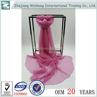 Hot china products wholesale famous designer silk scarf