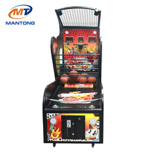 Luxury Indoor Amusement Arcade Basketball Game Machine , Adult sporting basket ball machine