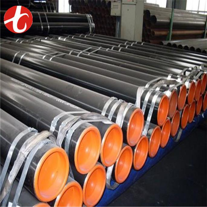 per kg JIS G3458 STPA23 rubber lined carbon steel pipe with low price