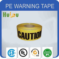 Top quality PE plastic detectable warning tape