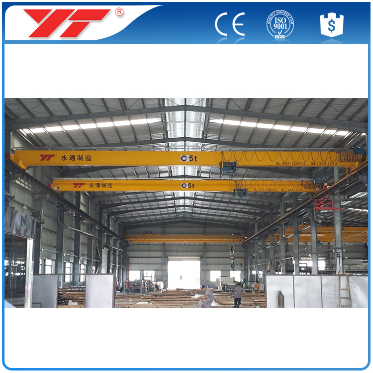 China Cranes Manufacturers ld model single beam/girder overhead cranes