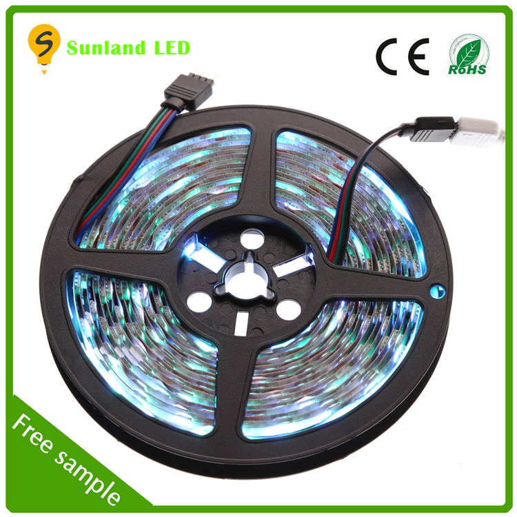 powerful RGB+W led flexible strip super bright led light strip 12v wholesale