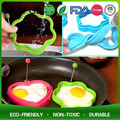 Kitchen Fried Egg Molds, Silicone Egg Mold, Various shaped eco-friendly silicone egg ring mold